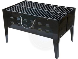 Outdoors BBQ Portable Charcoal Kebab Foldable Portable Grill Barbecue - $44.54
