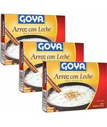 Pack of 3 Goya Arroz Con Leche - Rice Pudding 4.25 oz Each - $13.85