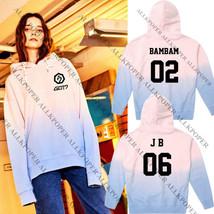 KPOP GOT7 Gradient Cap Hoodie Sweater Unisex Jackson Sweatershirt Bambam... - $13.27