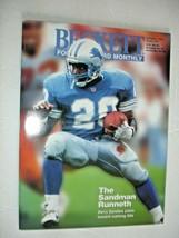 BECKETT-FOOTBALL-OCTOBER 1995-ISSUE #67-BARRY SANDERS - $1.99