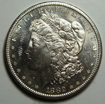 1882S Proof Like MORGAN SILVER DOLLAR COIN Lot# D 16