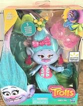 "Hasbro Dreamworks Chenille Seda 6"" Troll Doll with 5 Accessories - $17.82"