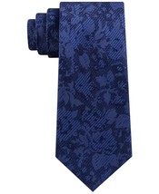 Michael Kors Mens Classic Botanical Silk Tie One Size Blue - $69.50 - NWT - $19.59