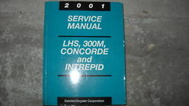 2001 Chrysler Lhs Concorde Dodge 300M Intrepid Shop Service Repair Manual Oem 01 - $54.41