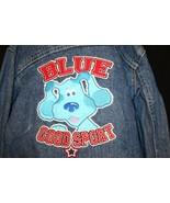 Nick Jr. Blues Clues Blue's Room Good Sport Jean Jacket~3T~Blue Cotton D... - $34.95