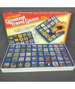 Vintage The World's Greatest Travel Game 1985 Bingo WoodKrafter Kits Com... - $28.98