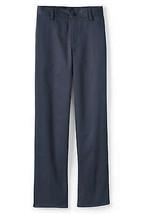 Lands End Uniform (Boys Size 20, 33 inseam) Blend Plain Front Chino Pant... - $12.99
