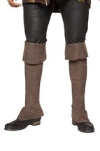 Pirate Boot Covers with Zipper Detail - $26.99