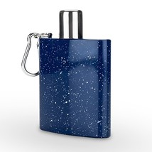 Flasks For Women, Blue Enamel Carabiner Novelty Unique Vintage Alcohol F... - €23,55 EUR