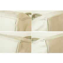 "Callista Crafts Ultra Light gray ""Ice"" color Tote Shoulder Bag Handbag Hobo image 3"