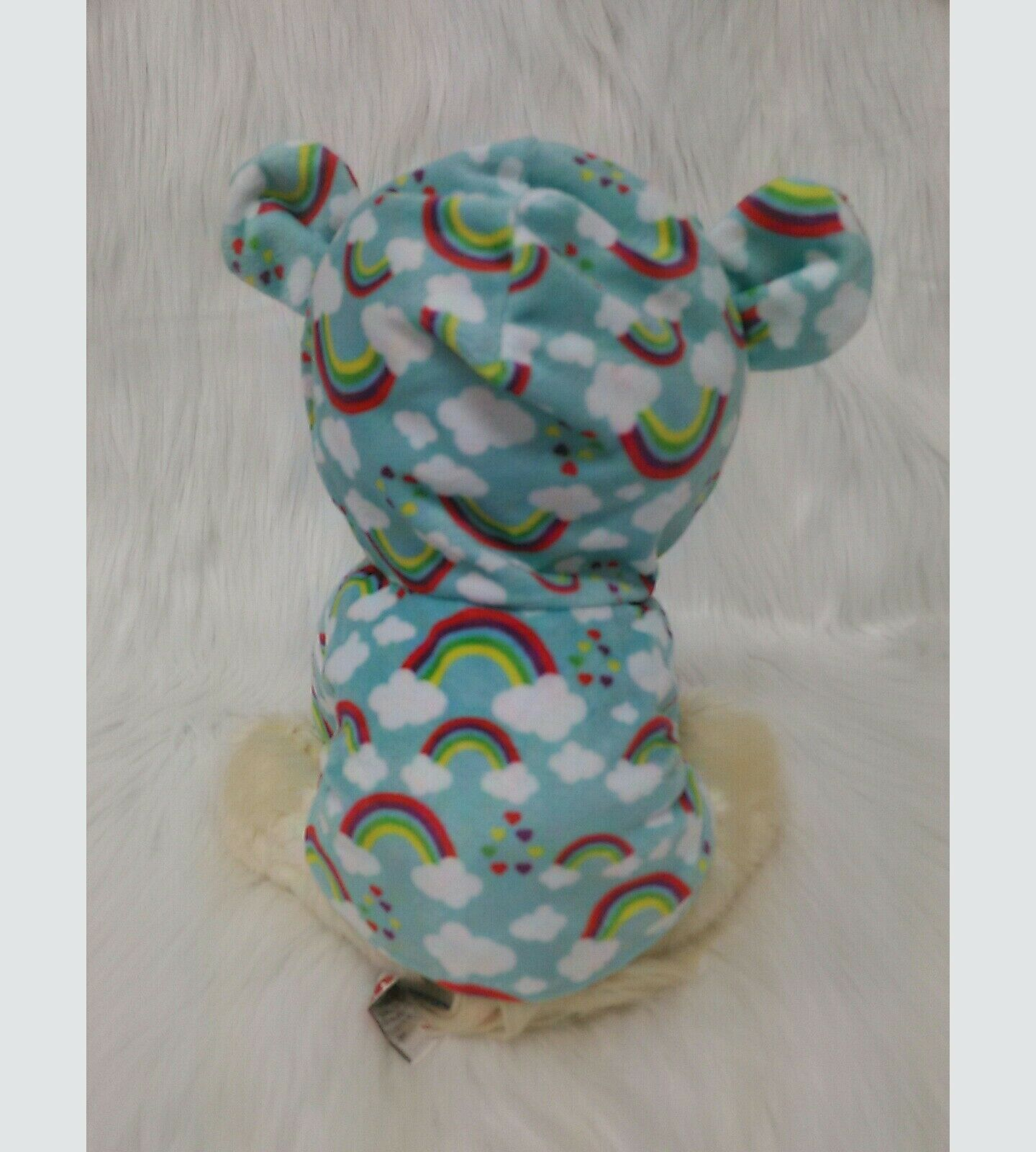 "10"" Gund Boo Puppy Dog Rainbow Pajamas Worlds Cutest Dog 4060866 Plush Toy B350"