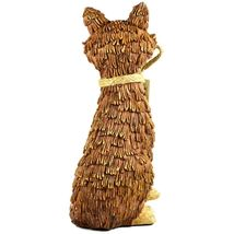 """Delton Products Rustic Natural Tan Brown Seated Sitting Fox 10"""" Resin Figurine image 3"""