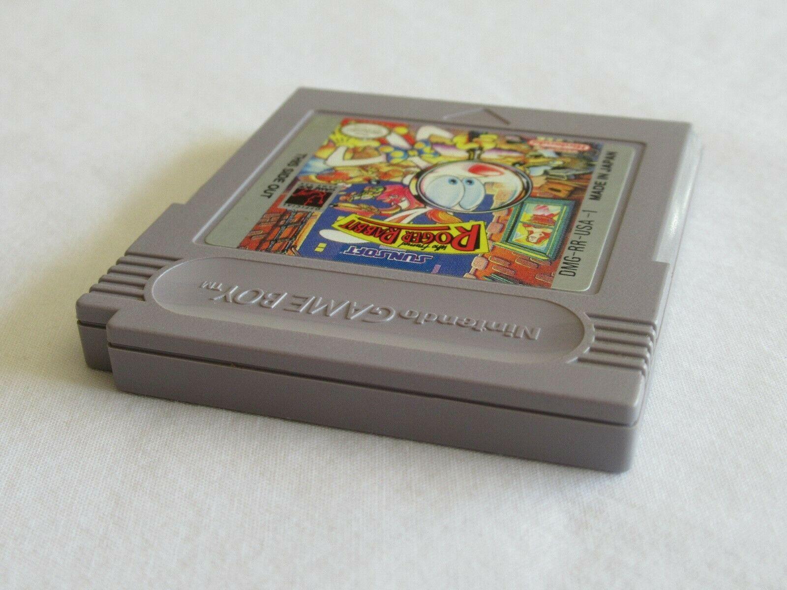Who Framed Roger Rabbit (Nintendo Game Boy, 1991) Tested and Works image 6