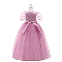 Sexy Pink   Tulle Lace Flower Girl Dress A Line Wedding Party Gowns A Li... - $25.22