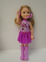 MINT Pop Star Chelsea 2015 Dress Up Play Barbie Little Sister Deboxed - $11.00