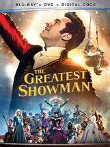 The Greatest Showman Disney Blu-ray + DVD + Digital Code NEW - $16.26