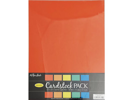 The Paper Studio Primary Colors Cardstock Pack 50 Sheets #732222