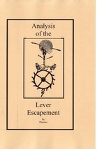 Analysis of the Lever Escapement - CD - Book - - $5.99