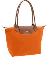 Longchamp new orange medium thumbtall