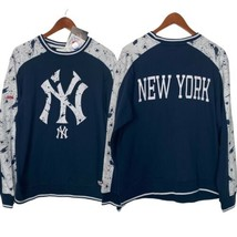 New York Yankees Women's M Stitches Sweatshirt Pullover MLB Merchandise NYC - $38.75