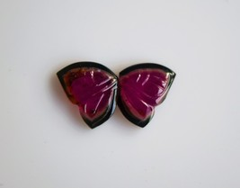 Tourmaline Carved Butterfly, Natural Gemstone Butterfly - $110.00