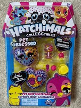 Hatchimals CollEGGtibles Pet Obsessed Pet Shop Multi Pack Hatchy Hearts - $13.83