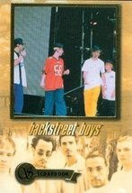 Backstreet Boys trading card (Scrapbook) 2000 Winterland #5 of 18 - $4.00