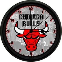8 in clock chicago bulls logo thumb200