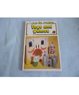 Vintage 1978 Lady Bird Book How To Make Toys And Games  Series 633 - $7.94