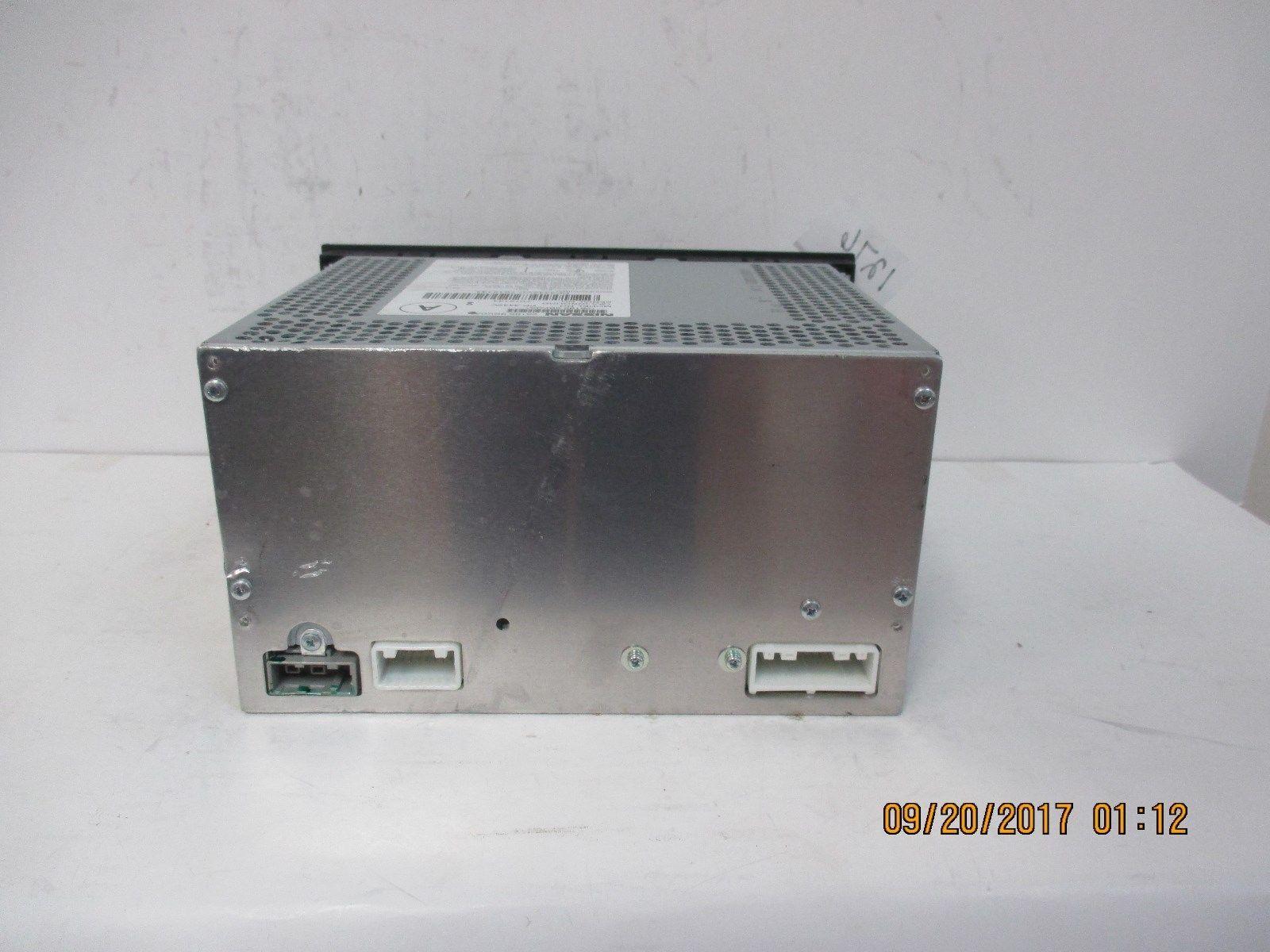 2014-16 Nissan Frontier CD Radio w/AUX 28185-9BK0A