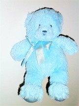 "BABY GUND MY FIRST TEDDY BEAR BLUE 021033 11"" - $4.36"