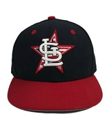 New Era 59 Fifty Men's St. Louis Cardinals Fitted Baseball Navy Hat Cap ... - $18.80