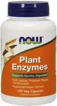 Now Supplements, Plant Enzymes With Lactase, Protease, Papain And Bromel... - $12.86