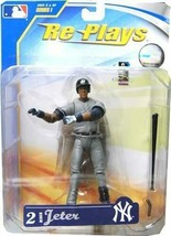 Derek Jeter New York Yankees Re Plays MLB Action Figure New 2007 Yanks NYY - $44.54