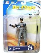 Derek Jeter New York Yankees Re Plays MLB Action Figure New 2007 Yanks NYY - $44.54