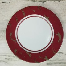 LS Collection Lynda Sylvester Patina Rouge Dinner Plate New York 11 in D... - $14.54