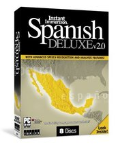 Instant Immersion Spanish Deluxe v2.0 (old version) - $9.99