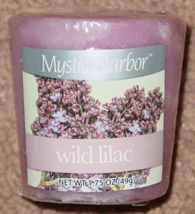 CANDLES 4 WILD LILAC VOTIVE CANDLE MYSTIC HARBOR 1.75 OZ EACH YANKEE CAN... - $5.00