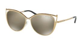 MICHAEL KORS Sunglasses INA MK 1020 11645A Gold Marble Gold Tone w/Bronz... - $209.99