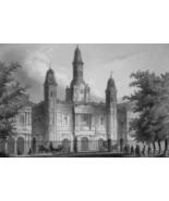 NEW ORLEANS Cathedral Louisiana - CIVIL WAR Era Print - $39.60