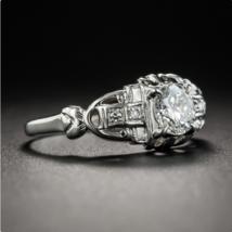 Art Deco .50 Carat Diamond Engagement Ring - $95.00