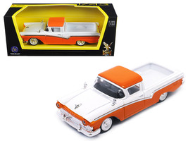 1957 Ford Ranchero Orange 1/43 Diecast Model Car by Road Signature - $21.10