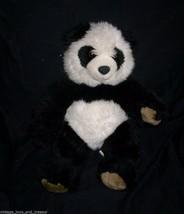 """16 """" Build a Orso Nero/Bianco Panda Orsacchiotto Peluche Peluche BABW - $17.59"""