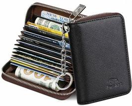 FurArt Credit Card Wallet, Zipper Card Cases Holder for Men Women, RFID ... - $21.67+