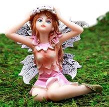 Ebros Gift Enchanted Fairy Garden Lavender Laurel Fairy Waking Up Figuri... - $17.81