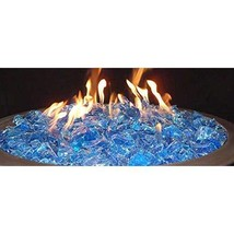 10 Pounds of Turquoise Fire Pit Fire Glass - $42.16