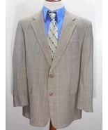 Vintage 90s BURBERRY'S HOUNDSTOOTH 100% WOOL Suit Jacket/Blazer 46R/46 R... - $128.37