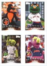 2019 Topps MLB Stickers #17/20/27/30 Baltimore Orioles/Wally The Green/C... - $1.95