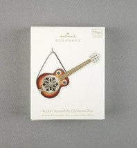 "Hallmark 2011 Keepsake Magic Ornament ""Rockin' Around The Christmas Tree"" Guitar - $29.69"