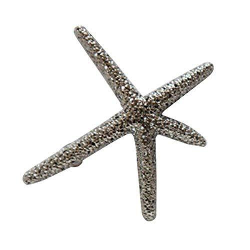 3 PCS Silver Starfish Style Hair Pins Hair Accessories for Girls Gift